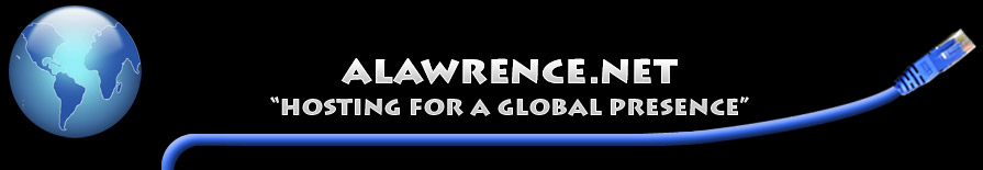 ALAWRENCE.NET | Hosting for a gloabal presence